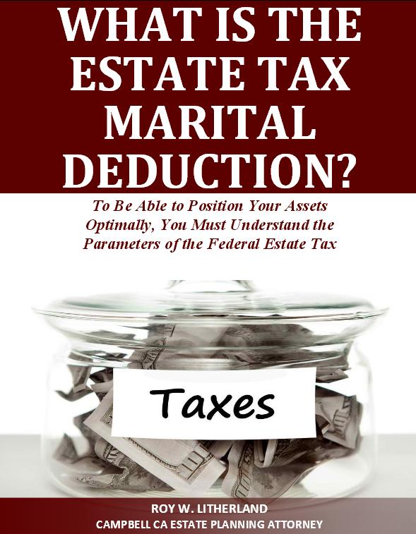 What is the Estate Tax Marital Deduction