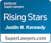 rated by super lawyers rising stars Justin M. Kennedy